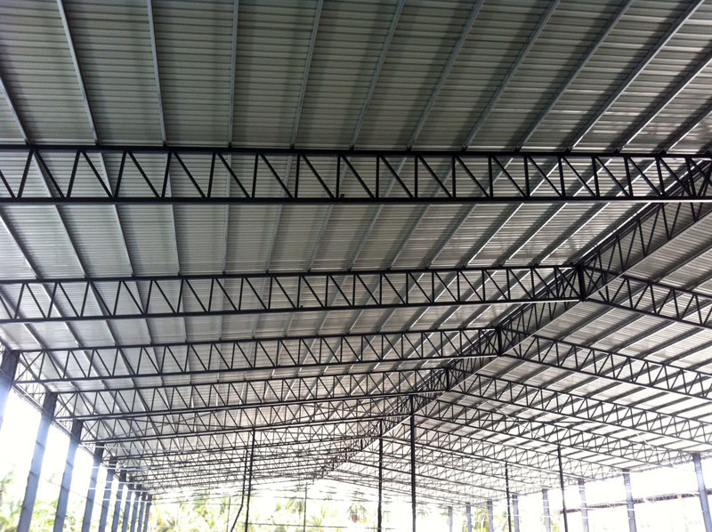Yk c purlin metal roofing malaysia metal deck roofing for Roof decking thickness